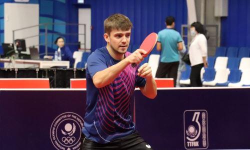 «Соперники серьёзные». Казахстанский спортсмен поделился настроем на международный турнир по настольному теннису в Караганде