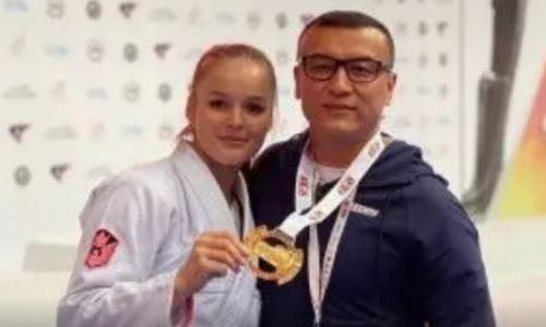 Казахстанка стала трехкратной чемпионкой Азии по джиу-джитсу