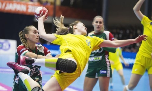 Казахстан победил в первом матче чемпионате Азии по гандболу
