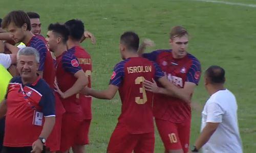 Узбекистанский клуб с игроком сборной Казахстана в составе вел в счете, но драматично проиграл за две минуты