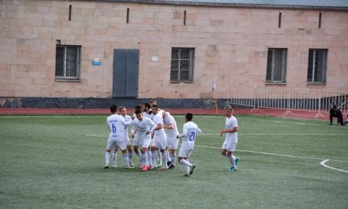 «Окжетпес» уверенно расправился с фарм-клубом «Кайрата» в матче Первой лиги