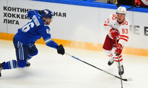Хоккеисты «Барыса» стали одними из самых играющих в КХЛ