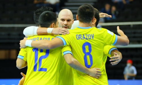 Стал известен состав сборной Казахстана на матч с Литвой на ЧМ-2021 по футзалу