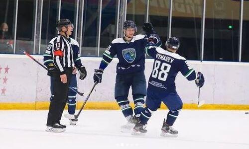 Ассист форварда сборной Казахстана обеспечил клубу ВХЛ пятую победу подряд и стопроцентный результат в лиге