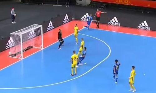 Сборная Казахстана забила самый быстрый гол на чемпионате мира-2021