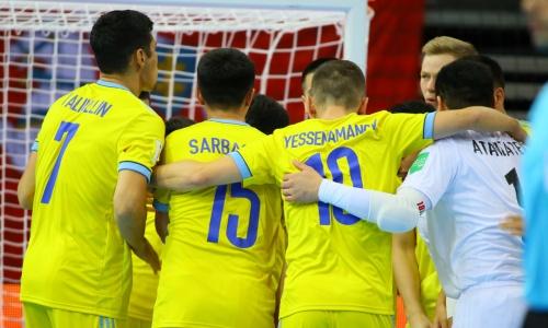 Каково положение сборной Казахстана в группе после двух побед на ЧМ-2021 по футзалу