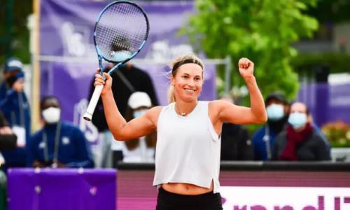 Юлия Путинцева уверенно вышла в четвертьфинал турнира WTA в Словении