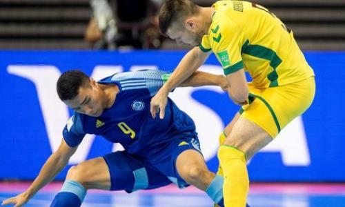 Фоторепортаж с матча чемпионата мира-2021 Литва — Казахстан 0:3