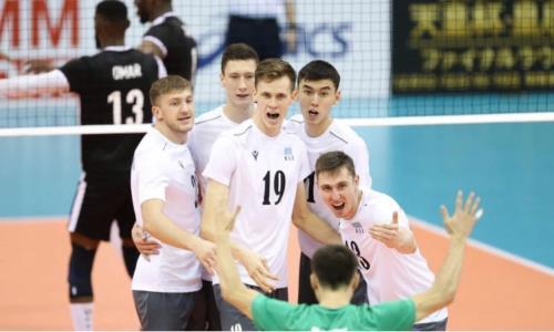 Сборная Казахстана одержала первую победу на чемпионате Азии