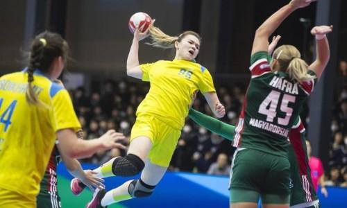 Женская сборная Казахстана выиграла второй матч на чемпионате Азии
