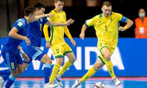 «Очень интересная инестандартная». Наставник сборной Литвы рассказал, чем его удивила команда Казахстана