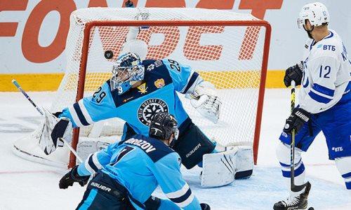 Клуб конференции «Барыса» в КХЛ едва не отыгрался с 0:5, забросив четыре шайбы за десять минут. Видео