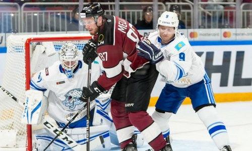 КХЛ разобрала матча «Динамо» Рига — «Барыс» и определила трех его звезд