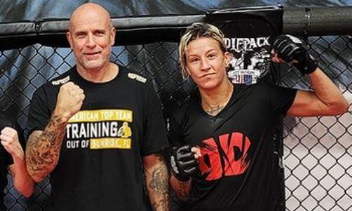 «Давно меня так никто не бил». Первая казахстанка в UFC представила очередного спарринг-партнера