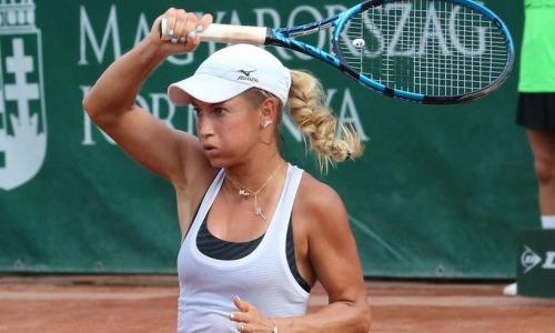 Путинцева стала первым полуфиналистом турнира WTA в Портороже