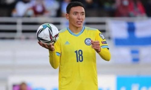 Футболист рассказал трогательную историю после дебюта в сборной Казахстана
