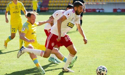 «Астана» лишилась легионера на матч против «Актобе»