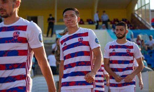 «Я хочу поиграть в Европе». Дебютант сборной Казахстана строит большие планы на будущее