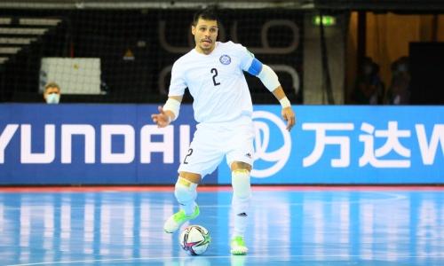 Игита провел 70-й матч за сборную Казахстана