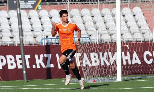 Оралхан Омиртаев забил юбилейный мяч в Премьер-Лиге