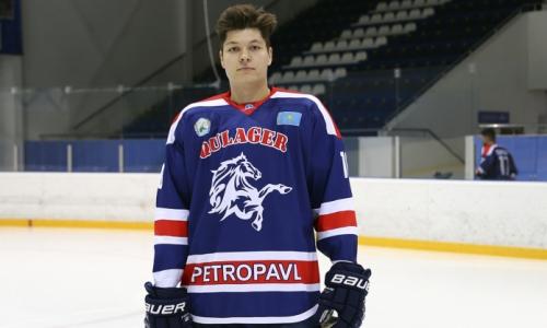 Иностранный хоккеист вернулся в казахстанский клуб