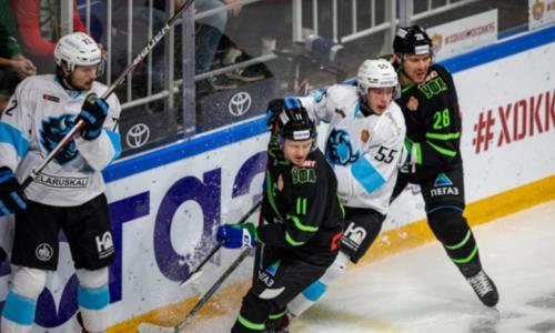 Лидер конференции «Барыса» одержал седьмую победу подряд и обновил клубный рекорд в КХЛ