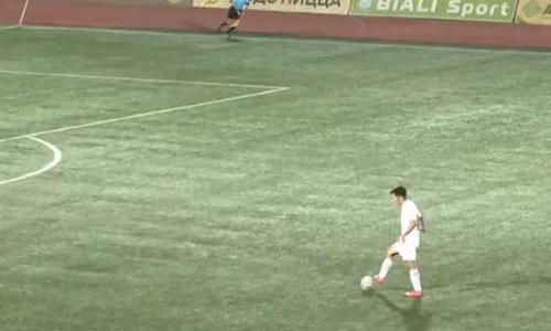 Видео гола Кенесова матча Премьер-Лиги «Кайсар» — «Шахтер»