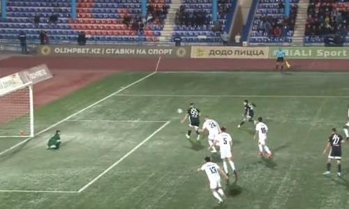 Видеообзор матча Премьер-Лиги «Кайсар» — «Шахтер» 1:2