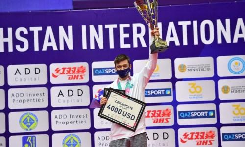 Герасименко после победы в паре завоевал «золото» турнира ITTF в одиночном разряде