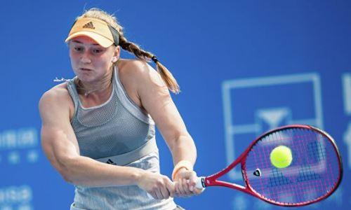 Первая ракетка Казахстана обновила личный рекорд в рейтинге WTA