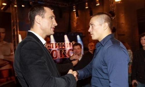 Усик ответил на вопрос об общении с Владимиром Кличко перед боем с Джошуа