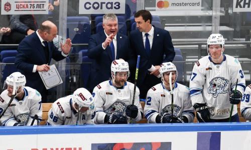 Названо место наставника «Барыса» в рейтинге тренеров КХЛ после первой выездной серии