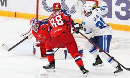 Прямая трансляция матча КХЛ «Барыс» — ЦСКА