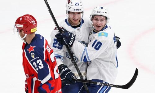 «В огне». КХЛ оценила расклад сил в матче «Барыс» — ЦСКА и назвала их лидеров