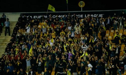 Подсчитано количество зрителей на дебютном домашнем матче «Кайрата» в Лиге Конференций