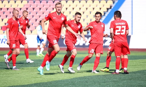 Молодежка «Кызыл-Жара СК» прервала серию поражений из восьми матчей в Первой лиге