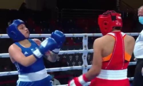 Казахстан за 73 секунды завоевал первую медаль на ЧМ-2021 по боксу среди военнослужащих. Видео