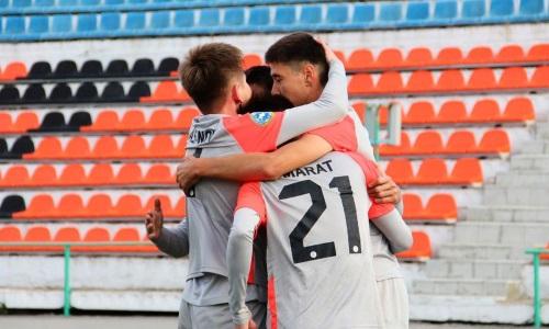 «Экибастуз» разгромил «Игилик» в матче Первой лиги