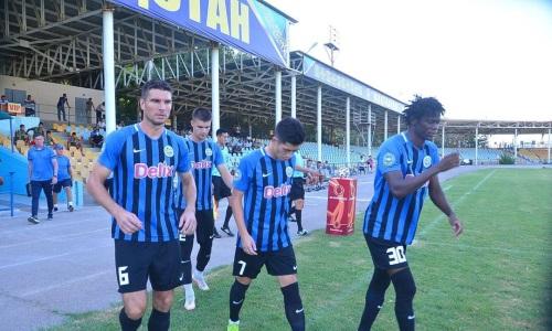 «Мактаарал» и «Кыран» не выявили победителя в центральном матче тура Первой лиги