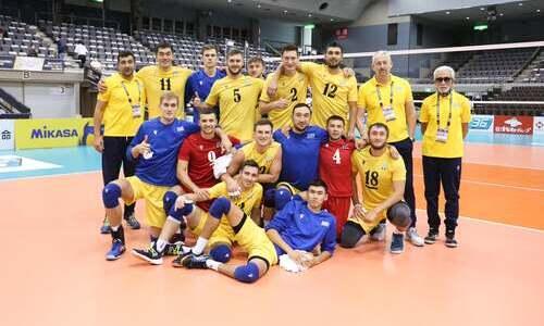 Мужская сборная Казахстана по волейболу совершила рывок в мировом рейтинге
