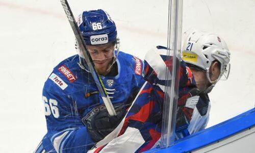 «Барыс» незаслуженно проиграл дома ЦСКА в матче КХЛ. Статистика это подтвердила