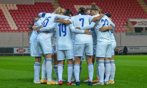 Женская сборная Казахстана забила гол впервые с октября 2020 года
