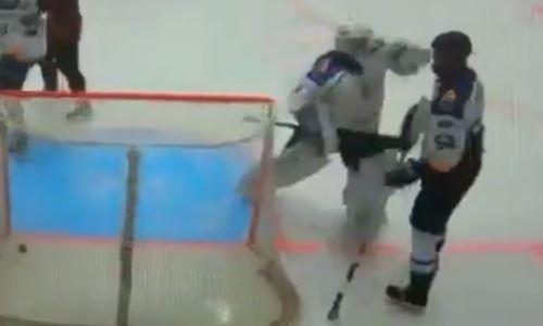 Появилось официальное объяснение резонансному эпизоду в казахстанском хоккее. Видео