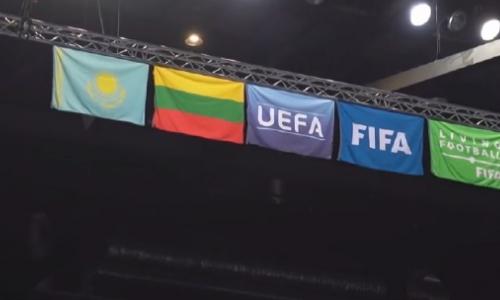 Сборная Казахстана готовится к матчу с командой Таиланда