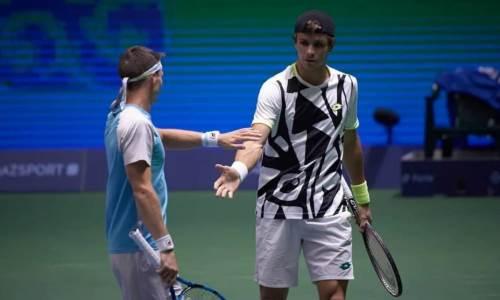 Казахстанская пара теннисистов едва не обыграла фаворитов Astana Open