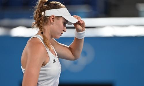 Рыбакина победила во втором круге турнира WTA в Остраве
