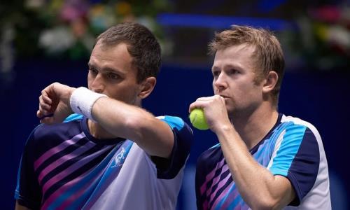 Казахстанские теннисисты не смогли выйти в полуфинал турнира Astana Open ATP 250