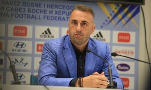 «Это приводит нас к ошибкам». Наставник Боснии и Герцеговины перед игрой с Казахстаном назвал главную проблему своей команды