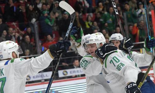 Лидер конференции «Барыса» в КХЛ одержал гостевую победу