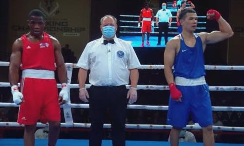 Казахстанский боксер оправился после нокдауна и вышел в финал чемпионата мира среди военнослужащих